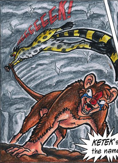 Ketek knocks Cheetah out.
