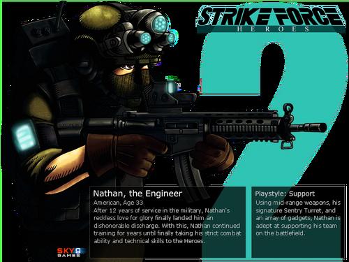 Nathan the engineer strike force heroes 2 wiki wikia