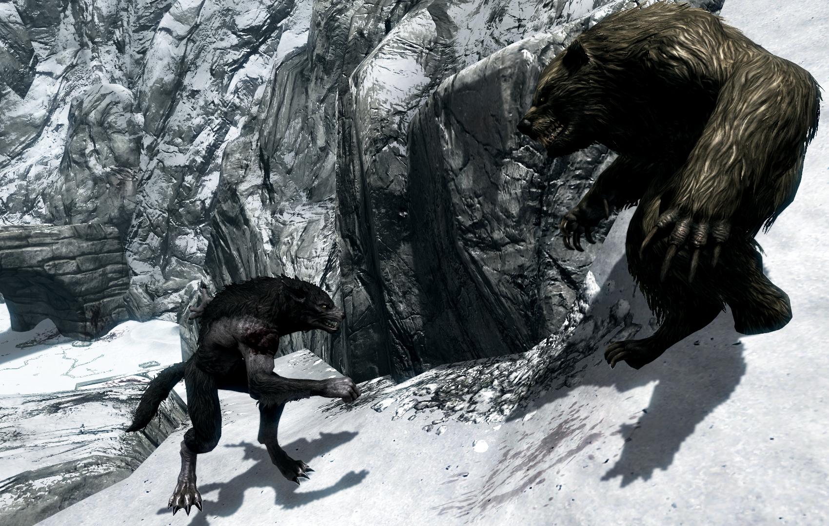 Image - Werewolf vs Werebear.png - The Elder Scrolls Wiki