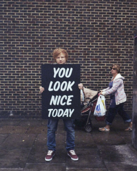 Image ed you look nice ed sheeran wiki - Ed sheeran give me love live room ...