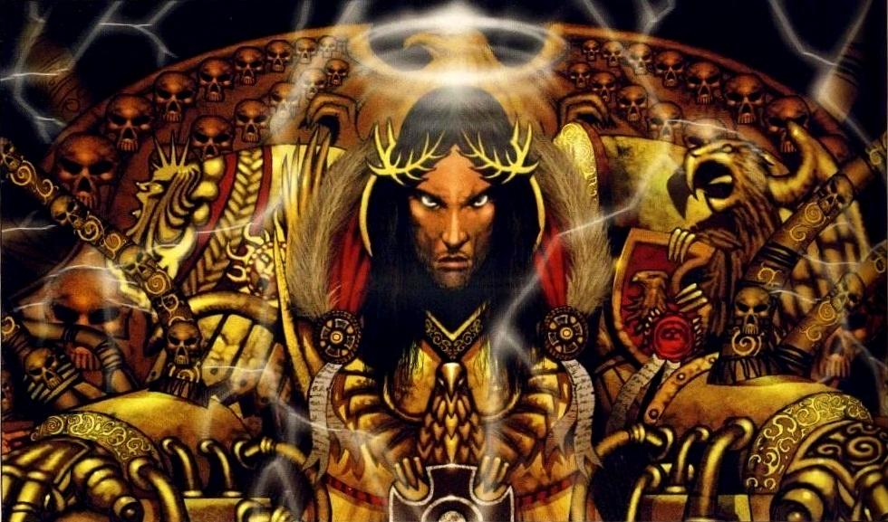 Malanar, la Forja de la Guerra Emperador_Trono_Dorado_Warhammer_Mankind_40k_Wikihammer