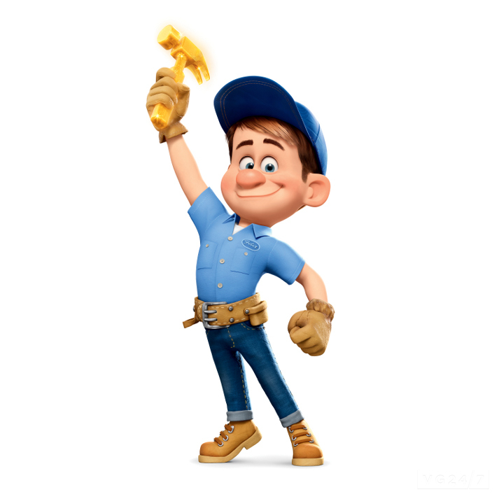 Fix-It Felix, Jr. is the tritagonist of Wreck-It Ralph . He is the