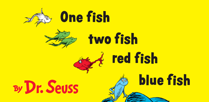Image one fish two fish red fish blue fish for Red fish blue fish dr seuss