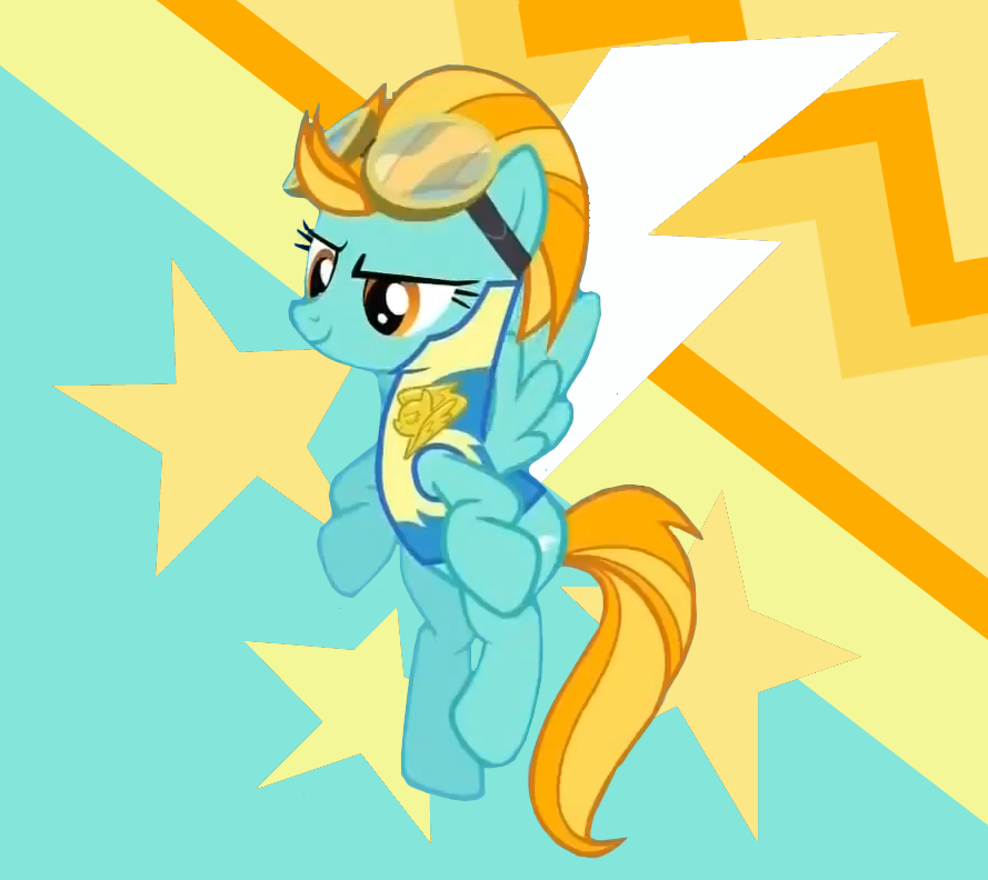 My Little Pony Lightning Dust Coloring Pages : Image fanmade lightning dust fanart my little pony