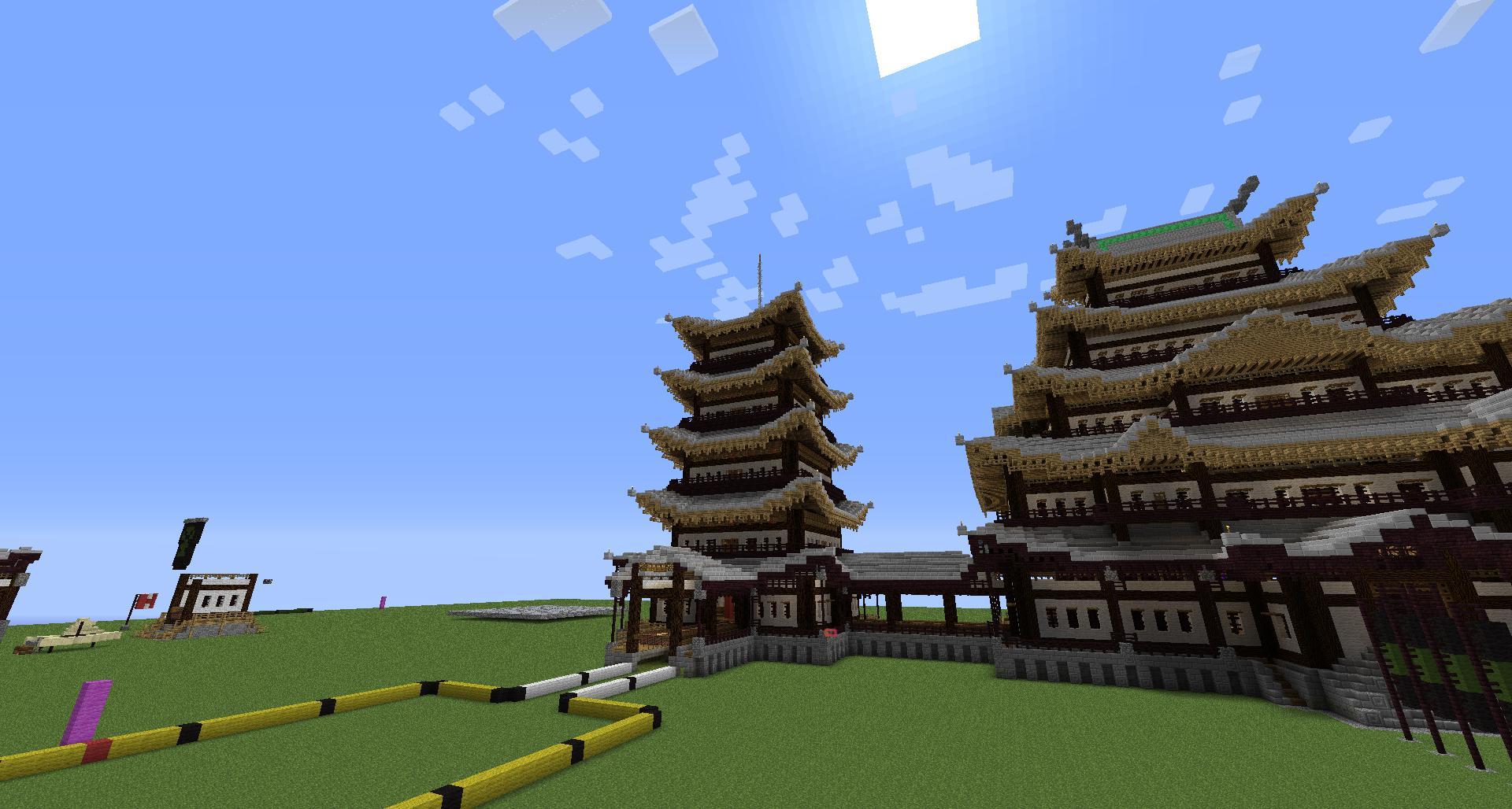 Image Minecraft Japanese Gabled Roof Jpg Amythyst S