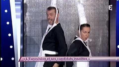 L'Eurovision et ses candidats insolites