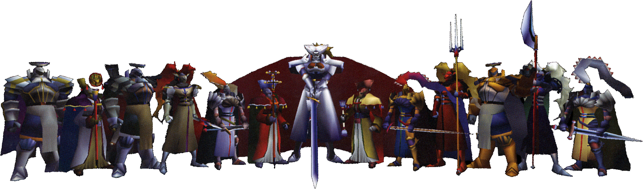 Your favorite least favorite final fantasy summons for 10 knights of the round table