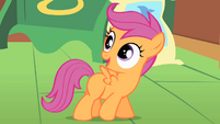 Scootaloo walking talking S1E17