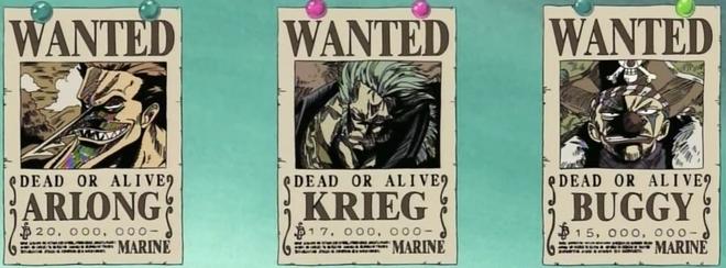 bounties the one piece wiki manga anime pirates