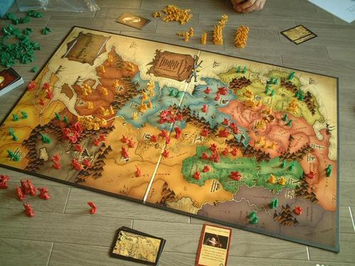 Risk Lord Of The Rings Version