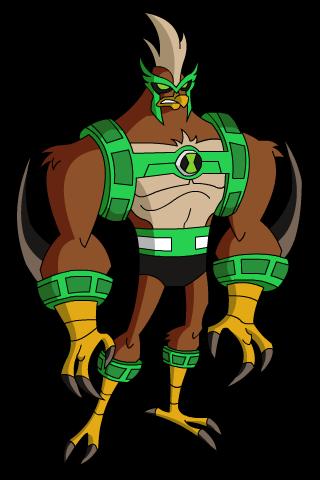 Kicken Hawk Omniverse officialWalkatrout Ben 10 Omniverse