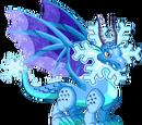 Dragon na Manipis na Nyebe