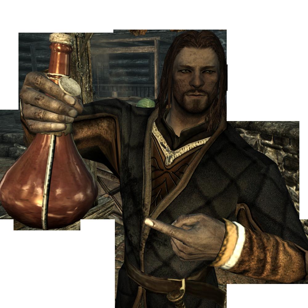 Skyrim сексуальная броня для мужских персонажей
