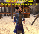 Scholar Donovan