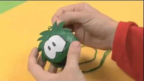 How To Make A Puffle - Disney Junior Club Penguin Art Attack