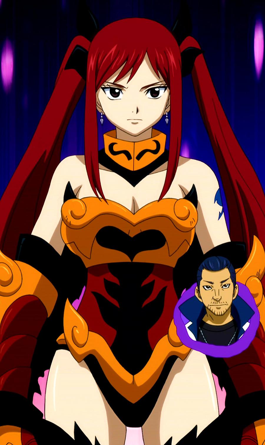 Flame Empress Armor - CloseFairy Tail Erza Flame Empress Armor