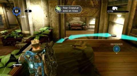 Gears of War 3 Huevo de Pascua en Hotel