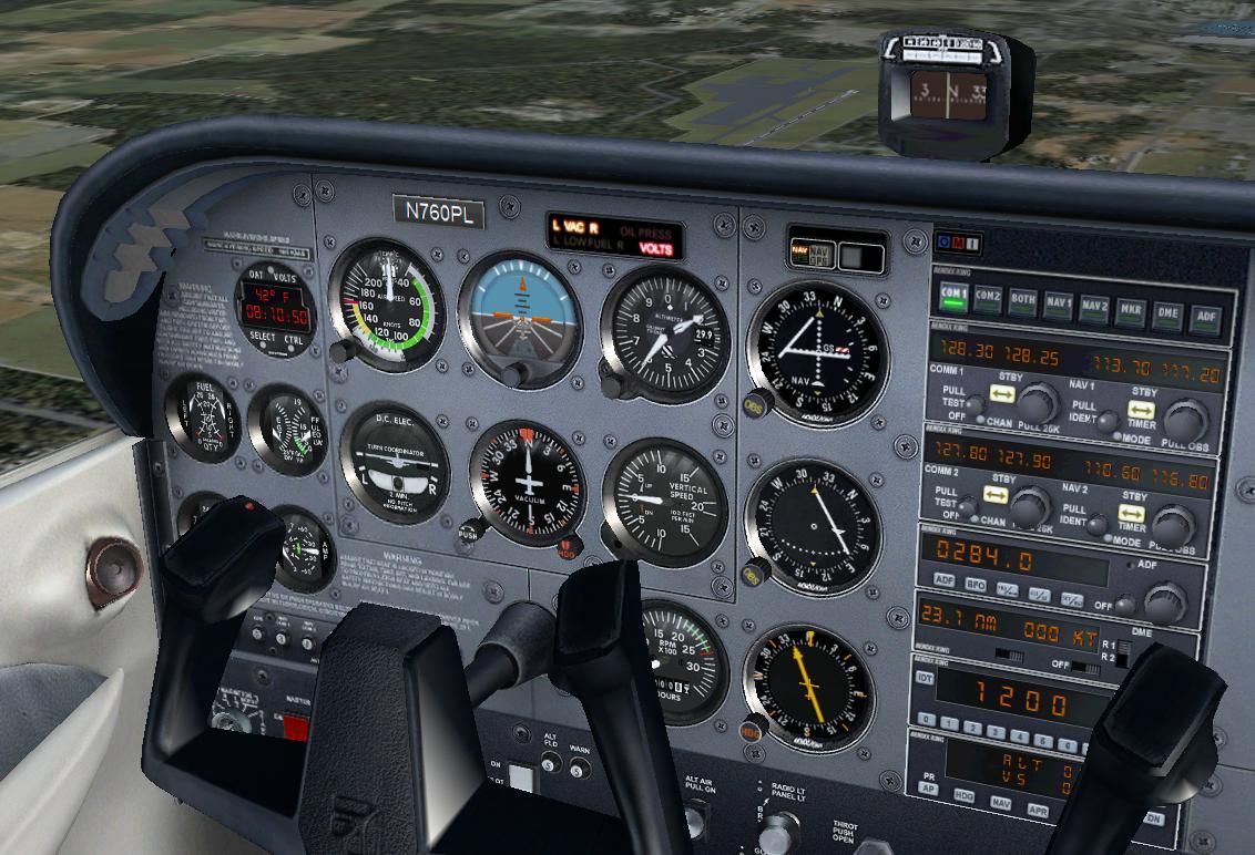 Cessna 172sp Instrument Panel - a-k-b info