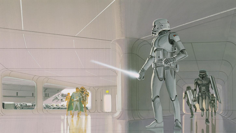 Original Concept Art For Star Wars Original Concept Art of