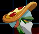 Pizza on my head