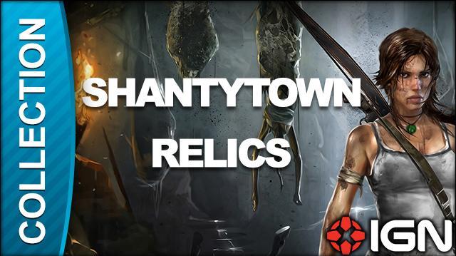 Tomb Raider Walkthrough - Relic Locations Shantytown