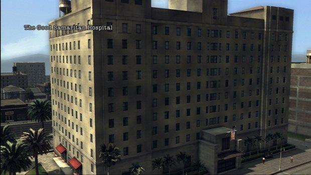 The good samaritan hospital as seen in la noire