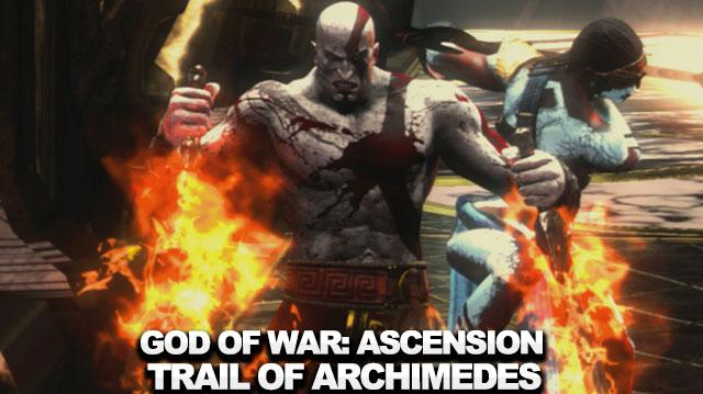 God of War Ascension - How to Beat the Trial of Archimedes