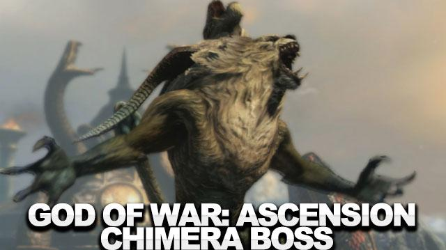 God of War Ascension Walkthrough (Boss 3) - The Chimera
