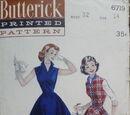 Butterick 6719 B