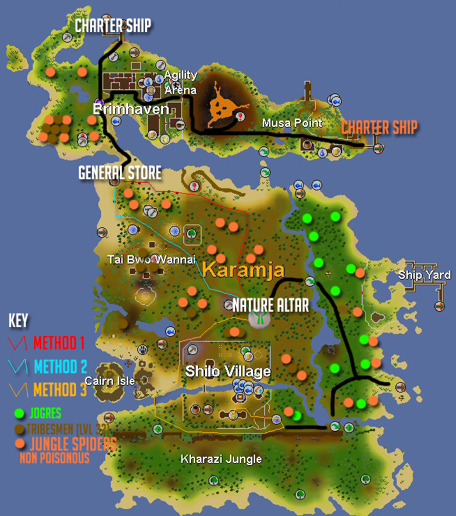 Runescape how to get to sand crabs
