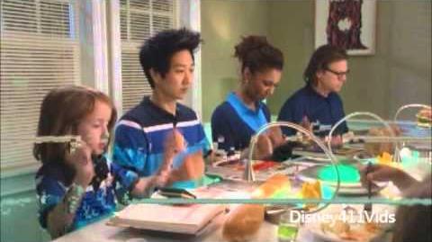 "Disney 365 Carlon Jeffery with ""The Neighbors"" cast"