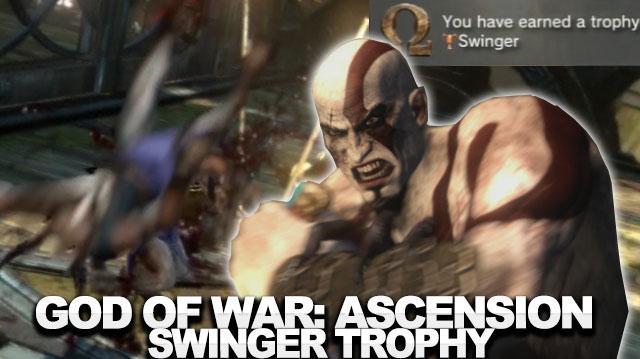 God of War Ascension Walkthrough - Swinger Trophy
