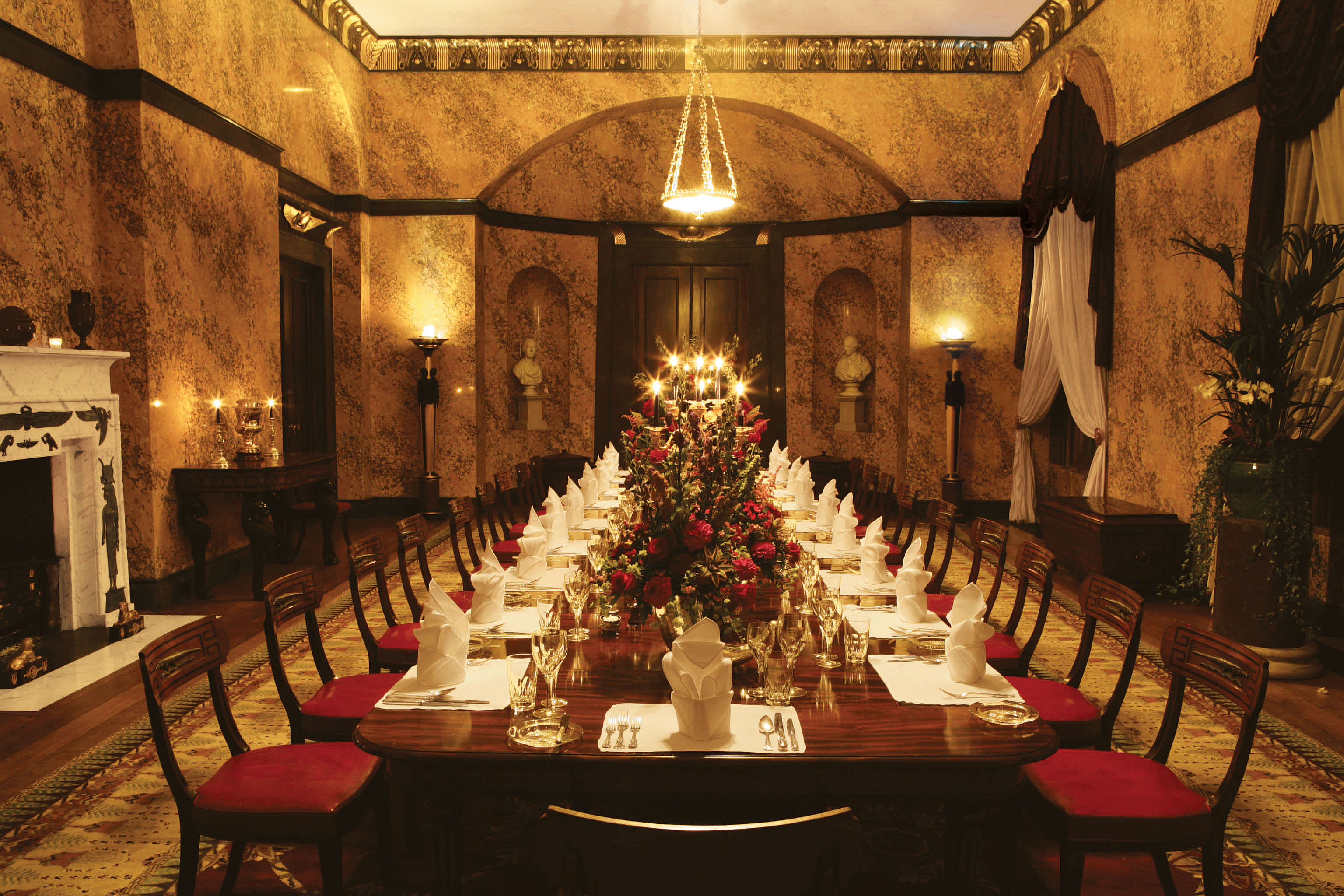 Egyptiandiningroomcreditcliveboursnell Jpeg Image 3072 Awesome Castle Dining Room Inspiration Design