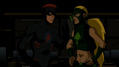 Image - Artemis and Kid Flash argue.png - Young Justice ...