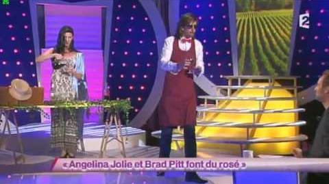 Angelina Jolie et Brad Pitt font du rosé