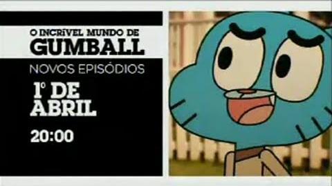 """Cartoon Network Brasil """"O Incrível Mundo de Gumball"""" Promo - Novos Episódios"""