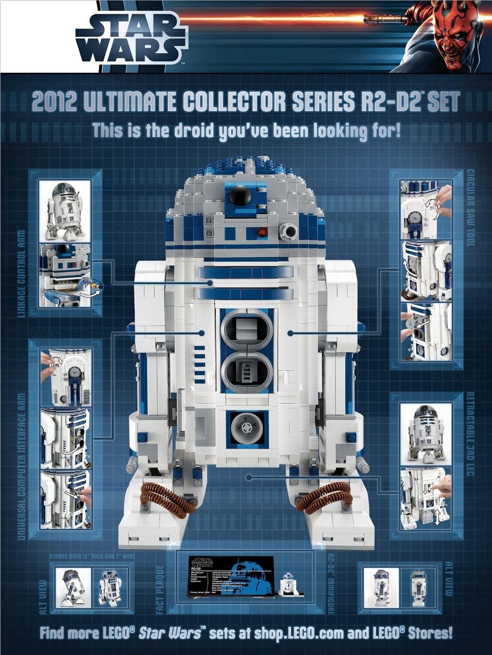 10225 R2 D2 Lego Star Wars Wiki Lego Star Wars Toys