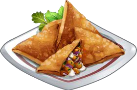 Recipe-Chaat Samosa
