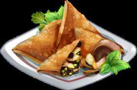 Recipe-Mushroom Samosa