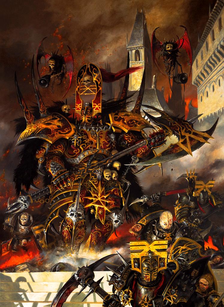 Khorne Warhammer 40K Wiki Space Marines ChaosWarhammer 40k Chaos Gods