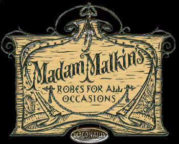 Madam malkin robes for all occasions hogwarts school according to