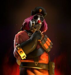 Clown pyroshark