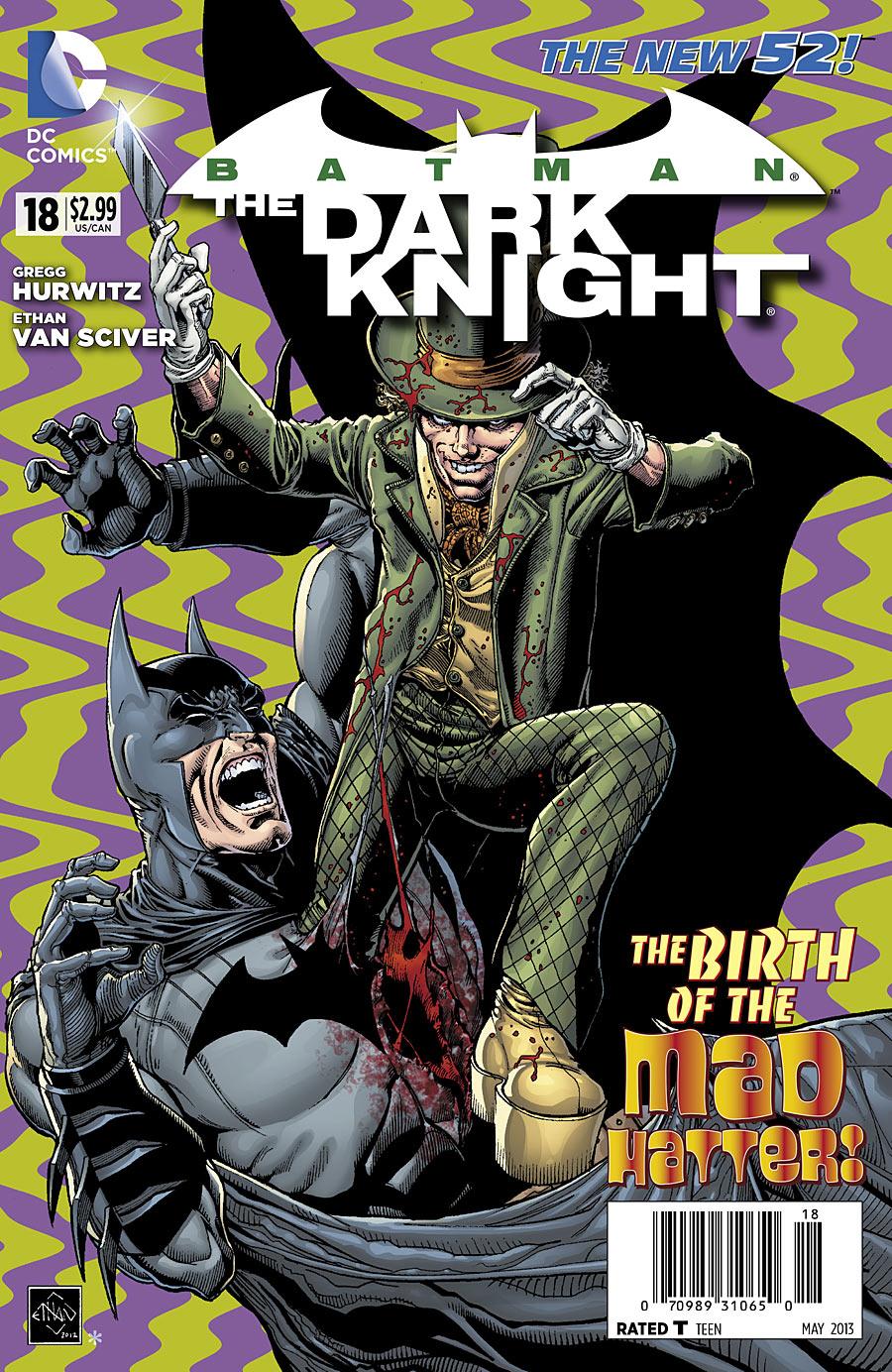 Batman the dark knight comics