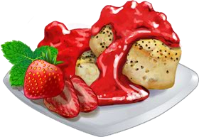 Recipe-Strawberry Black Pepper Biscuits
