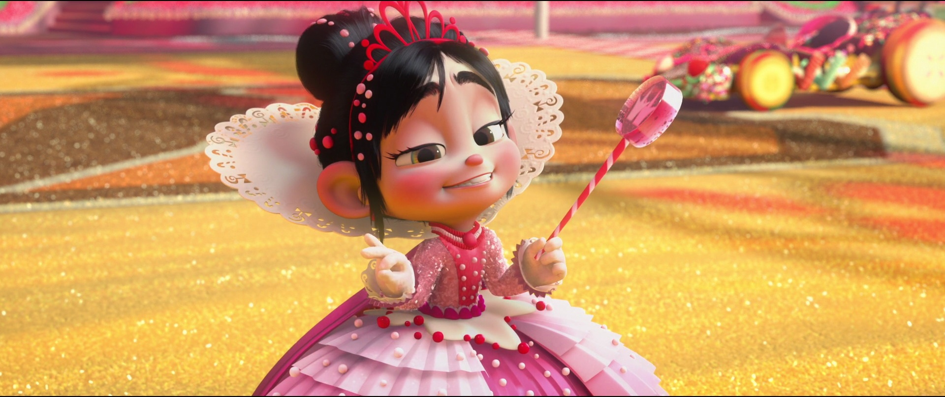 Displaying 19> Images For - Wreck It Ralph Vanellope Glitch