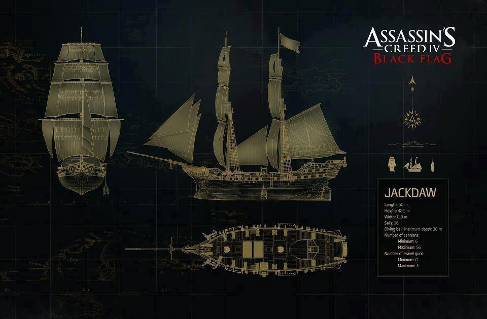 Assassin 39 s creed iv black flag edition jackdaw for Logiciel anti fenetre publicitaire
