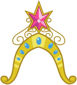 my little pony princess sunset shimmer crown