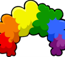 Rainbow Fro