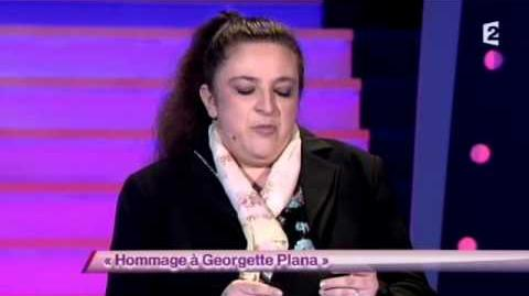 Hommage à Georgette Plana