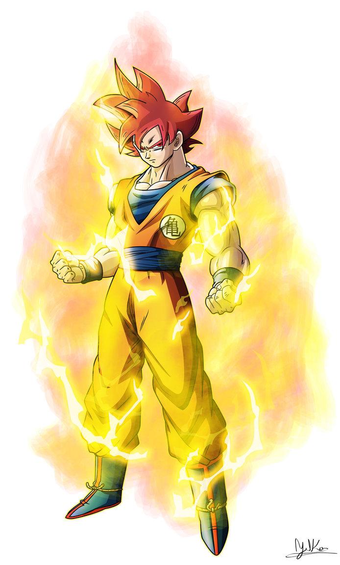 Super saiyan god goku - Goku super sayen ...